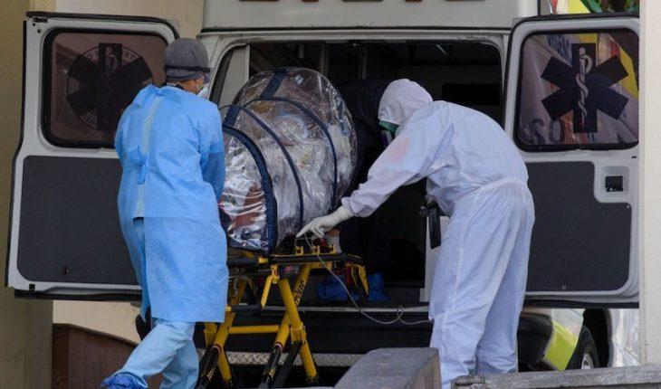 México registra 450 muertes por COVID; hay reducción del 26% de casos