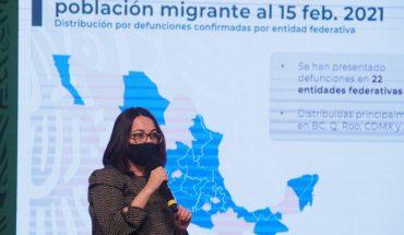 Mil 208 migrantes han tenido COVID en México y 55 murieron: Salud