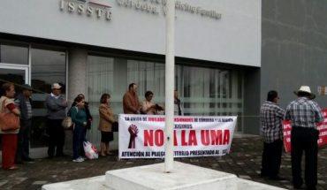Movimiento de Pensionados y Jubilados del ISSSTE rechaza pago en UMA
