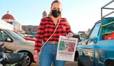 Periódico Regeneración, instrumento fundamental para informar al pueblo: Maritere Espinoza