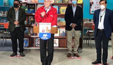 """Piñera dijo que retorno a clases lo decidirán los apoderados, """"no el gobierno, ni tampoco el Colegio de Profesores"""""""