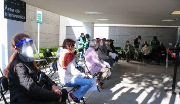 Van 40,820 vacunados en CDMX; mañana inician las brigadas domiciliarias