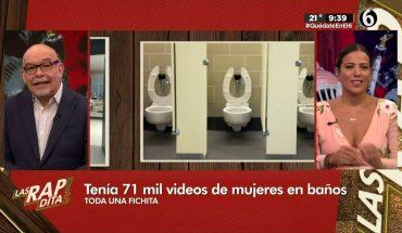 Coleccionaba videos de mujeres en baños | Las Rapiditas