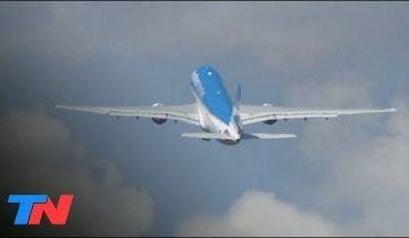 Despegó de Ezeiza el vuelo de Aerolíneas Argentinas que traerá 900 mil de dosis de la vacuna china