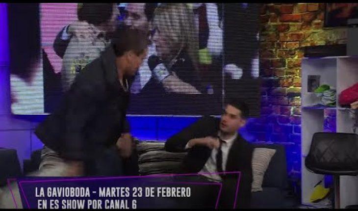Konan llega a golpear a Adrián | Adrián Marcelo Presenta