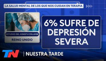 La salud mental de los que nos cuidan: según un estudio, el 13% pensó en quitarse la vida