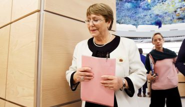 """Bachelet fears """"new wave of social mobilizations"""" in Latin America"""