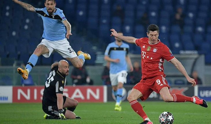 Bayern beat Lazio and was one step away from the quarter-finals