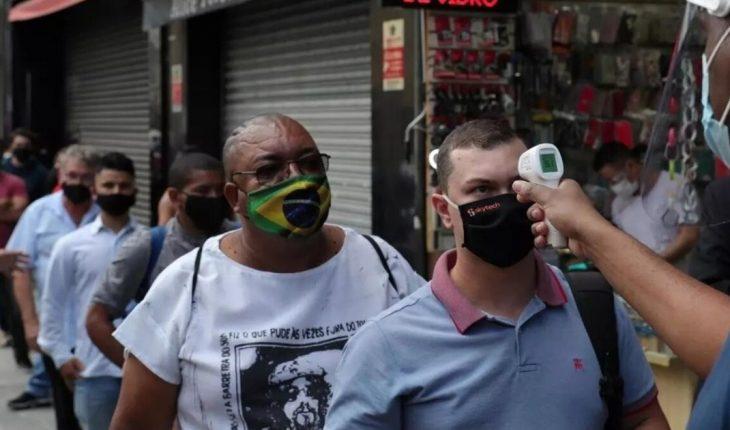 Brazil surpassed 10 million total cases of coronavirus