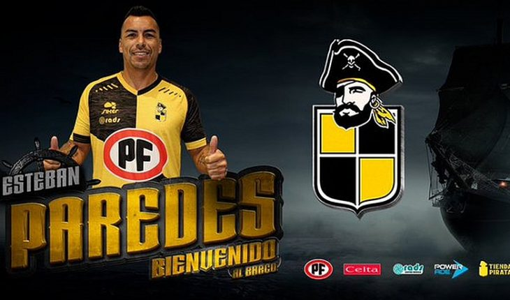 """Esteban Paredes: """"I'll give my 100% for Coquimbo Unido to come back from one to First"""""""