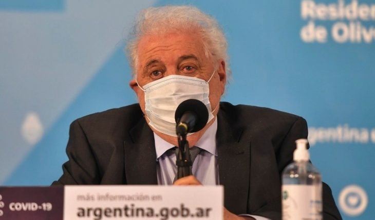 Ginés González García resigned from the post of Minister of Health