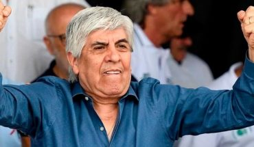 Hugo Moyano said he was empused because he is the president of two Social Works