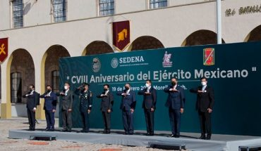 Humberto Arróniz recognizes the work of the Mexican Army