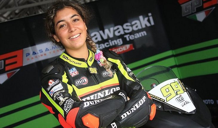 Isis Carreño again won in Men category in National Moto Speed