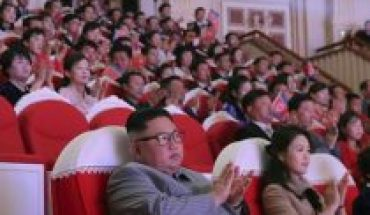 Kim Jong-un's wife reappears in Pyonyang after more than a year of speculation