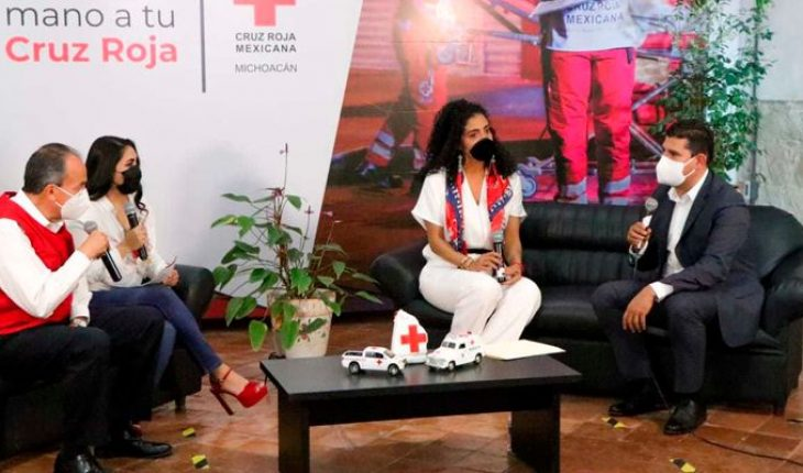 Michoacán Congress is added to annual collection of the Mexican Red Cross