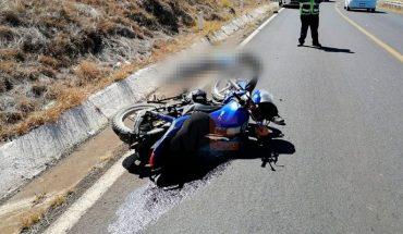 Muere motociclista tras accidente en la Morelia-Quiroga