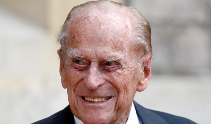 Prince Philip, husband of Queen Elizabeth II, remains interned