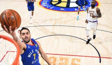 With a brilliant performance by Campazzo, Denver beat the Lakers