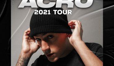 Acru anunció su gira 2021 por primera vez con banda completa
