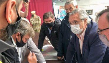 Alberto Fernández anunció ayuda económica para las zonas afectadas de Chubut