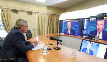 Alberto Fernández dialogó con el titular del Banco Mundial, David Malpass
