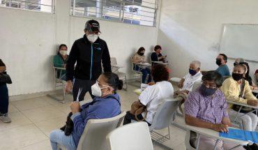 Alumnos del Instituto Tecnológico de Morelia apoyan en el proceso de vacunación