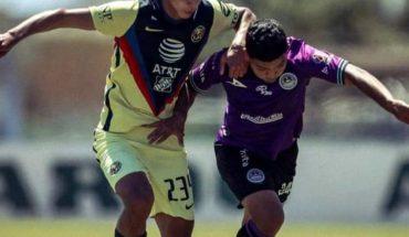 América Sub-17 le hace daño a Mazatlán FC y se queda con las 3 unidades