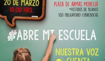 Asociación #AbremiEscuela realizará manifestación pacífica en Plaza de Armas