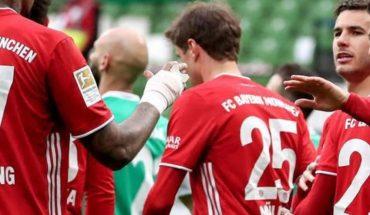 Bayern Múnich sigue líder tras vencer al Werder Bremen
