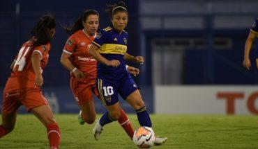 Boca no pudo con América de Cali y se despidió de la Copa Libertadores femenina