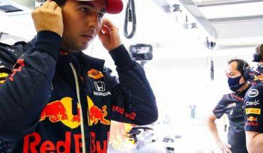 Checo Pérez contento por sumas puntos a Red Bull en el GP de Bahréin