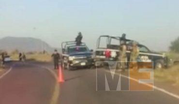 Chofer de camioneta muere calcinado en accidente vial