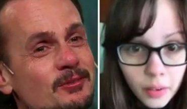 Christian Sancho lloró al ver un mensaje de su hija Camille