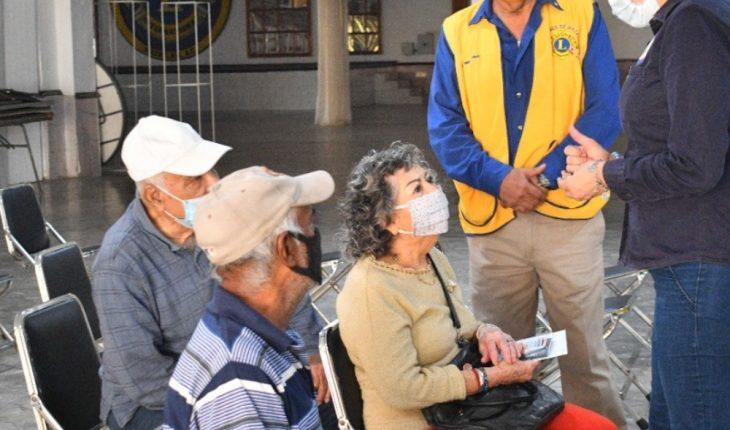 Club de Leones realiza campaña de aparatos auditivos en Mazatlán
