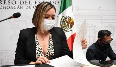 Congreso de Michoacán, garantiza gobernabilidad en municipios: Yarabí Ávila