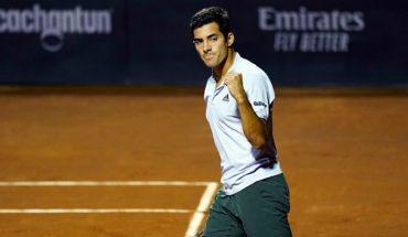 Cristian Garin se ubicó 20º del mundo tras ganar el ATP de Santiago
