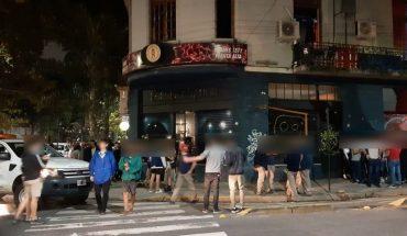 Desbarataron una fiesta clandestina en el sum de un hotel en Balvanera