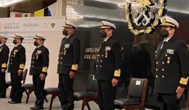 Designa a oficial mayor de marina y jefe del estado mayor general