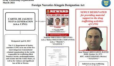 """EU añade a """"lista negra"""" a Juan Manuel Abouzaid, colaborador de CJNG"""