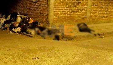 Ejecutan a tiros a dos jóvenes en la Tenencia de La Planta, Jacona