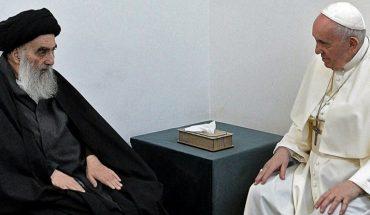 El papa Francisco se reunió con el ayatola Al Sistani en Irak