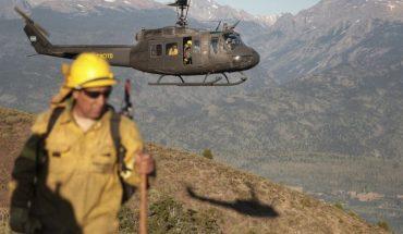 Fernández viaja a la Patagonia para volar sobre los incendios forestales