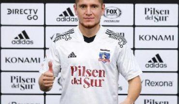 """Gil y su llegada a Colo Colo: """"Lo que me hizo venir acá fue Gustavo (Quinteros), por la idea futbolística"""""""