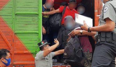 Incrementa la detención de migrantes en México durante 2021