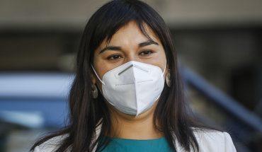 """Izkia Siches reconoció """"error"""" por """"palabras empleadas"""" para criticar al gobierno por el manejo de la pandemia"""