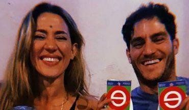 Jimena Barón conoció a su sobrina Matilda, la primera hija de su hermano Federico