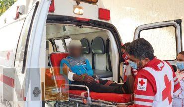 Joven baleado llega a domicilio de Jacona para pedir ayuda