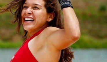 La felicidad de Norma Palafox por ganar en su competencia