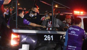 La porra del equipo de futbol de Mazatlán denuncia abuso policial
